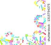 sprinkles grainy. cupcake... | Shutterstock .eps vector #1315754375