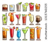 vector set of tropical...   Shutterstock .eps vector #1315760255