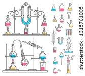 laboratory installation for...   Shutterstock . vector #1315761005