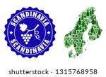 vector collage of wine map of... | Shutterstock .eps vector #1315768958