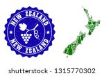 vector collage of wine map of... | Shutterstock .eps vector #1315770302