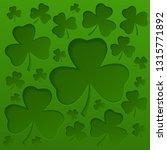 saint patricks day background...   Shutterstock .eps vector #1315771892