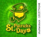 saint patrick's day leprechaun... | Shutterstock .eps vector #1315774148
