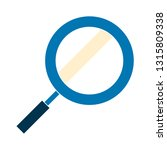 search icon   magnifying glass... | Shutterstock .eps vector #1315809338
