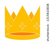 crown icon  king crown... | Shutterstock .eps vector #1315810838