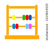 abacus icon   education icon  ... | Shutterstock .eps vector #1315814525