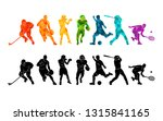 color sport background.... | Shutterstock .eps vector #1315841165