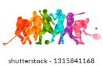 color sport background.... | Shutterstock .eps vector #1315841168