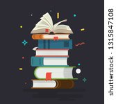 books. knowledge  learning and... | Shutterstock .eps vector #1315847108