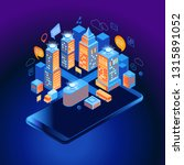 smart city or intelligent... | Shutterstock .eps vector #1315891052