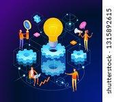 banner innovation concept.... | Shutterstock .eps vector #1315892615