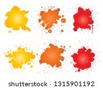 vector collection of artistic... | Shutterstock .eps vector #1315901192