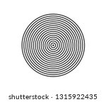 concentric circle element.... | Shutterstock .eps vector #1315922435