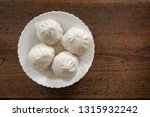 top view chinese hot bun on... | Shutterstock . vector #1315932242