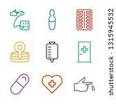 treatment icons. trendy 9... | Shutterstock .eps vector #1315945532
