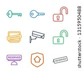 private icons. trendy 9 private ... | Shutterstock .eps vector #1315950488