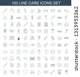 care icons. trendy 100 care...   Shutterstock .eps vector #1315953362