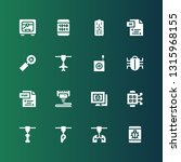 program icon set. collection of ... | Shutterstock .eps vector #1315968155