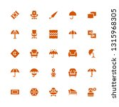 comfort icon set. collection of ... | Shutterstock .eps vector #1315968305