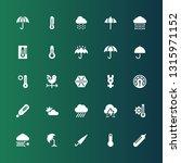 meteorology icon set....   Shutterstock .eps vector #1315971152