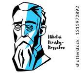nikolai rimsky korsakov... | Shutterstock . vector #1315972892