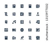 notepad icon set. collection of ...   Shutterstock .eps vector #1315977032