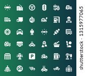 auto icon set. collection of 36 ... | Shutterstock .eps vector #1315977065