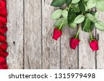 romantic background with... | Shutterstock . vector #1315979498