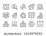 search engine optimization...   Shutterstock .eps vector #1315979552