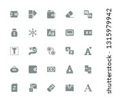 change icon set. collection of... | Shutterstock .eps vector #1315979942