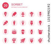 sorbet icon set. collection of... | Shutterstock .eps vector #1315982192