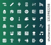 mixer icon set. collection of... | Shutterstock .eps vector #1315982258