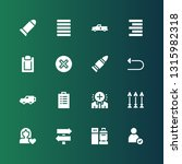 right icon set. collection of... | Shutterstock .eps vector #1315982318