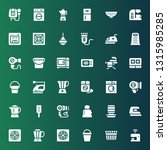 appliance icon set. collection... | Shutterstock .eps vector #1315985285