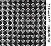 seamless art deco vector palm... | Shutterstock .eps vector #1315994582