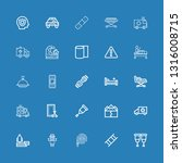 editable 25 accident icons for... | Shutterstock .eps vector #1316008715