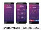 trading mobile interface for...