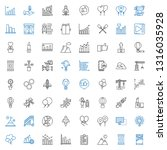 up icons set. collection of up... | Shutterstock .eps vector #1316035928
