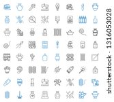 craft icons set. collection of... | Shutterstock .eps vector #1316053028