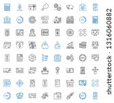 money icons set. collection of... | Shutterstock .eps vector #1316060882