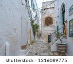 ostuni  puglia  italy  ... | Shutterstock . vector #1316089775