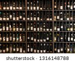 Collection Of Wines In The...