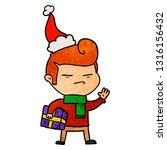 hand drawn textured cartoon of... | Shutterstock .eps vector #1316156432