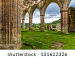 ruins of an old cistercian... | Shutterstock . vector #131622326