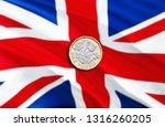 uk pound economy for business... | Shutterstock . vector #1316260205