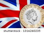 uk pound economy for business... | Shutterstock . vector #1316260235