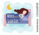 postcard  banner or poster for... | Shutterstock .eps vector #1316268938