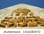 """""""to kiev hero city"""" saying with ...   Shutterstock . vector #1316283572"""