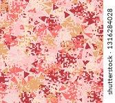 seamless pattern. fashionable... | Shutterstock .eps vector #1316284028