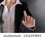 close up. business woman... | Shutterstock . vector #1316293892